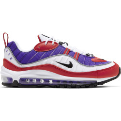NIKE, Women's nike air max 98 shoe, Psychic purple/black-university red