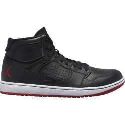 NIKE, Jordan access, Black/gym red-white