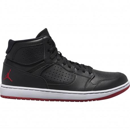 Jordan access - Black/gym red-white