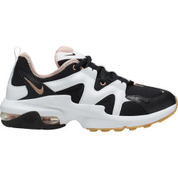 NIKE, Wmns nike air max graviton, Black/mtlc red bronze-coral stardust