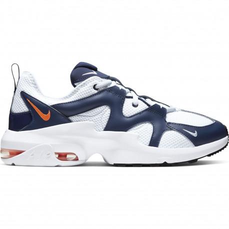 Nike air max graviton - Blue void/total orange-white