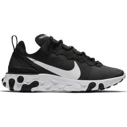 NIKE, Nike react element 55, Black/white