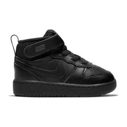 NIKE, Nike court borough mid 2, Black/black-black