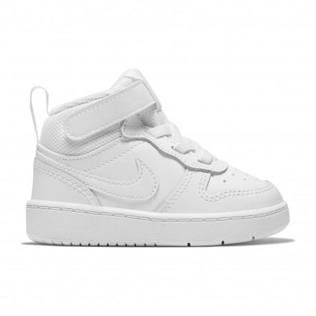 Nike court borough mid 2 - White/white-white