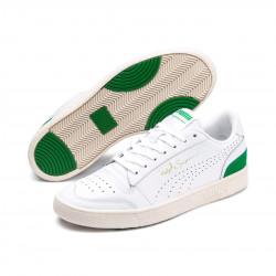 PUMA, Ralph samp lo perf soft, Puma white-amazon green-whisper white