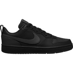 NIKE, Nike court borough low 2 (gs), Black/black-black