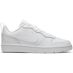 NIKE, Nike court borough low 2 (gs), White/white-white