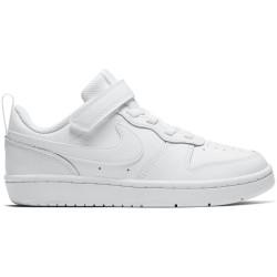 NIKE, Nike court borough low 2 (psv), White/white-white