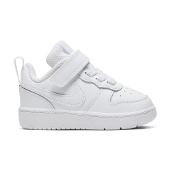 NIKE, Nike court borough low 2 (tdv), White/white-white