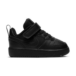 NIKE, Nike court borough low 2 (tdv), Black/black-black