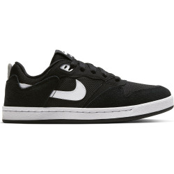NIKE, Nike sb alleyoop (gs), Black/white-black