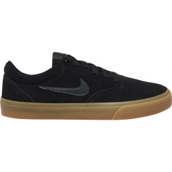 NIKE, Nike sb charge suede, Black/anthracite-black-gum light brown