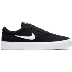 NIKE, Nike sb charge cnvs (gs), Black/white-black