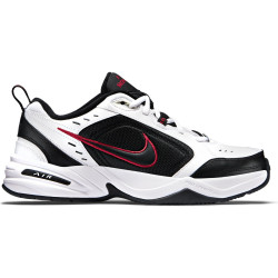 NIKE, Air monarch iv, White/black