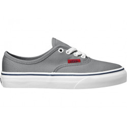 VANS, Authentic, (pop) frost gray/chili pepper