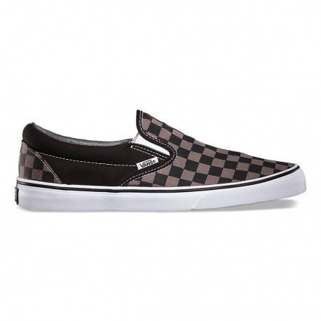 Classic slip-on - Black/pewter checkerboard
