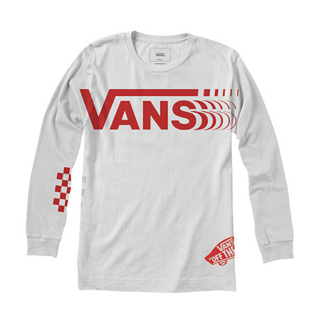 Vans distorted ls - White