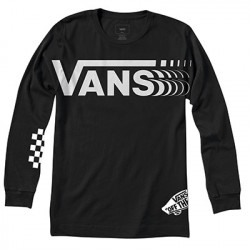 VANS, Vans distorted ls, Black