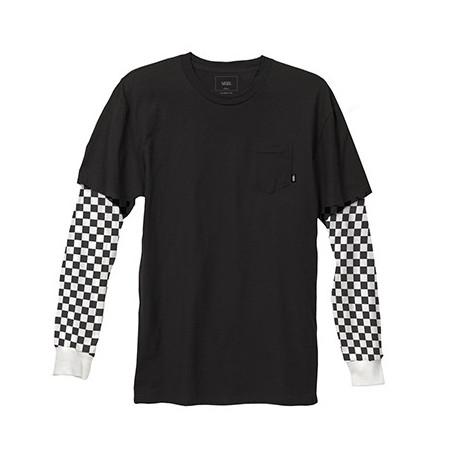 Checker sleeve tw - Black/checker