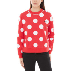 VANS, Minnie boxy crew, Racing red