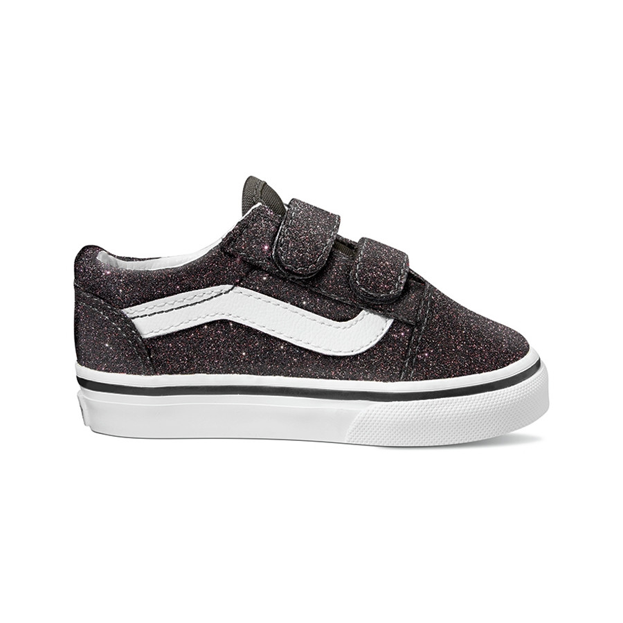 VANS Old Skool V (glitter Stars) Skate Shoes Suffern