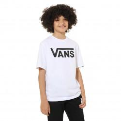 VANS, Vans classic boys, White/black