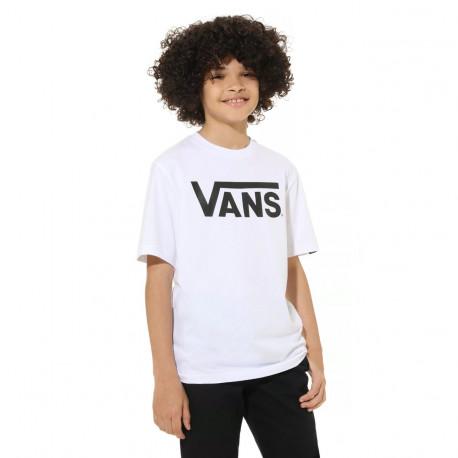 Vans classic boys - White/black
