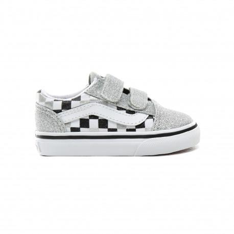 VANS Old Skool V (glitter Chkrbr Skate Shoes Suffern
