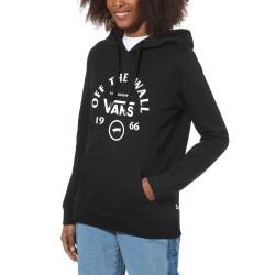 VANS, Attendance hoodie, Black
