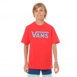 VANS, Vans classic logo, Racing red/chec