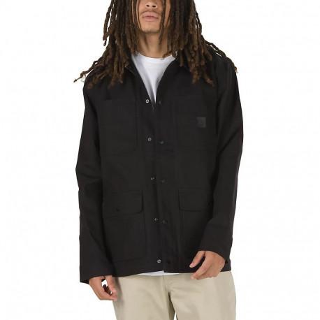 Drill chore coat - Black (rz/ripst