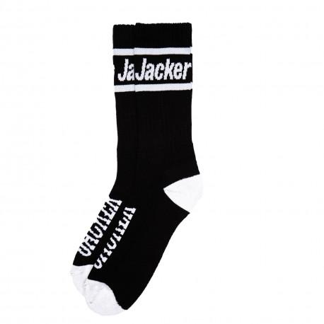 Lips slide socks - Black