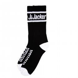 JACKER, After logo socks, Black