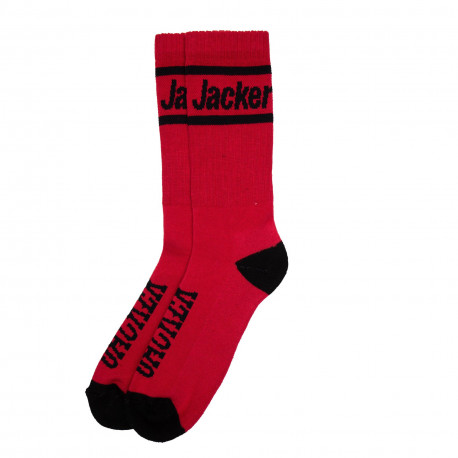After logo socks - Red