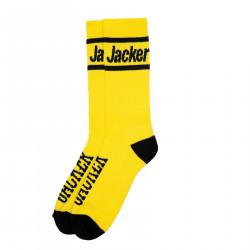 JACKER, After logo socks, Yellow