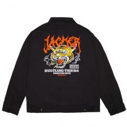 JACKER, Tigers mob work jacket, Black
