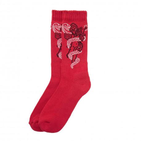 Heaven's socks - Dark red