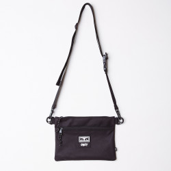 OBEY, Conditions side bag iii, Black