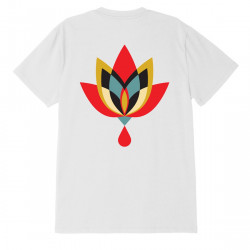 OBEY, Obey geometric flower 2, White
