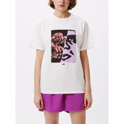 OBEY, Floral icon, White