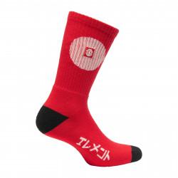 ELEMENT, Tokyo socks, Fire red