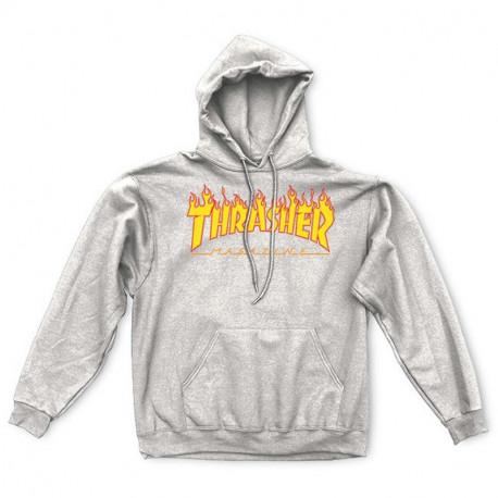 Sweat flame hood - Grey