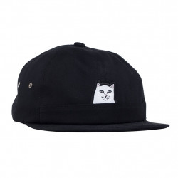 RIPNDIP, Lord nermal pocket 6 panel hat, Black