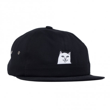 Lord nermal pocket 6 panel hat - Black