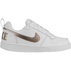 NIKE, Nike court borough low ep, White/blur-blur