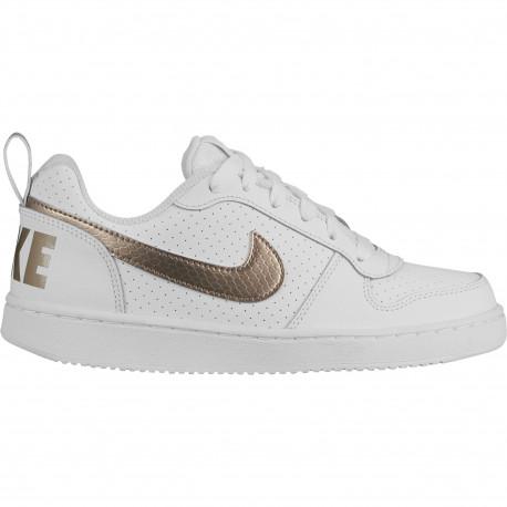 Nike court borough low ep - White/blur-blur