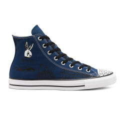 CONVERSE, Chuck taylor all star pro sp hi, Navy/black/white