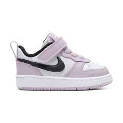NIKE, Nike court borough low 2 (tdv), Photon dust/off noir-iced lilac-white