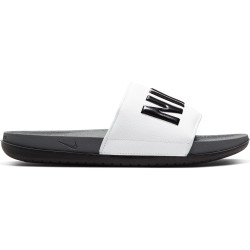 NIKE, Nike offcourt slide, Dark grey/black-white