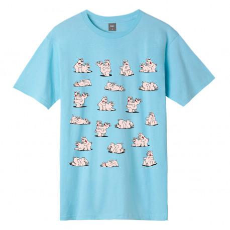 T-shirt makin bacon ss - Greek blu